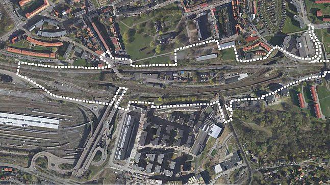 Planområdet Brynsbakken
