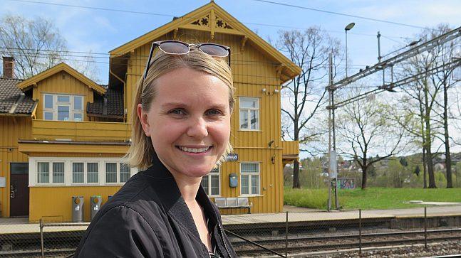 Thilde Fjeld Grorud stasjon