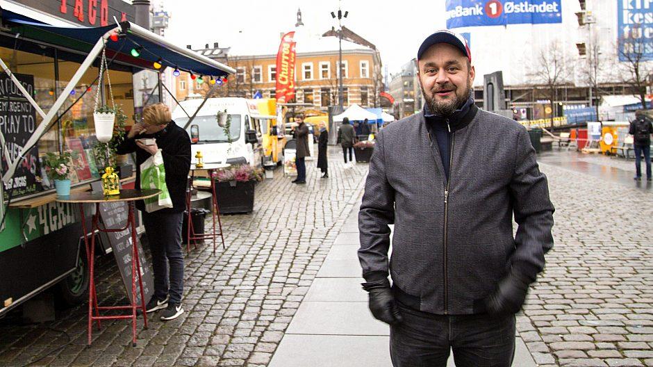 Runar S. Eggesvik på Kulturhuset i Youngs gate.
