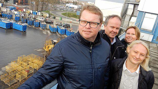 F.v. Anders L. Solheim, Anette Karlsnes, Tor André Kvarekvål og Torild Halvorsen.