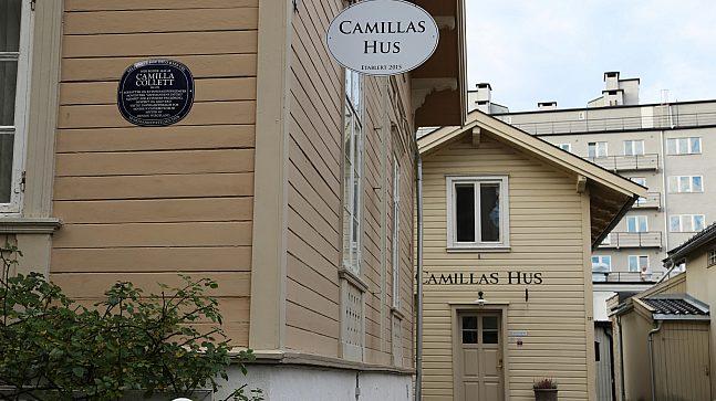 Camilla Collett bodde i kvartalet i noen år.