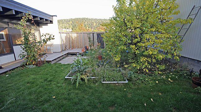 De innvendige hagene blir en personlig, fredet plett for den enkelte boenhet.