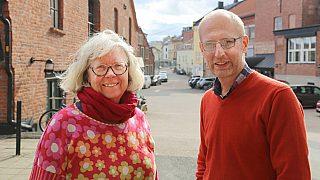 Janne Wilberg og Morten Stige