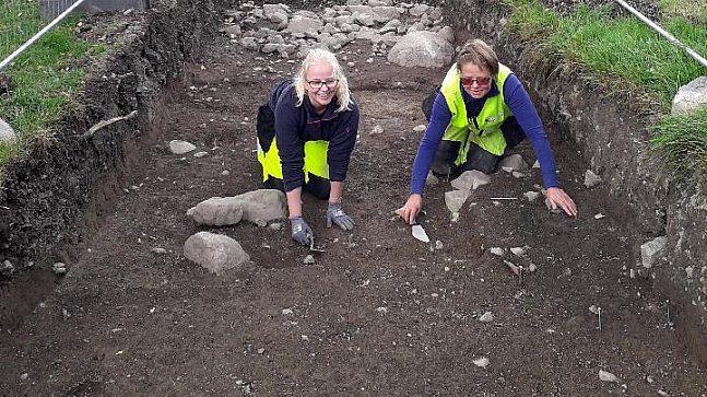 Susanne Petterson og Mari Raastad