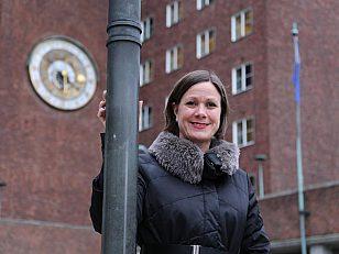 Hanna Marcussen, byråd for byutvikling i Oslo