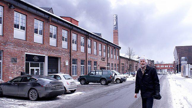 prosjektdirektør Tom Holmen-Jensen i Oxer Eiendom AS