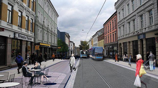 Mulig opparbeidelse av Thorvald Meyers gate