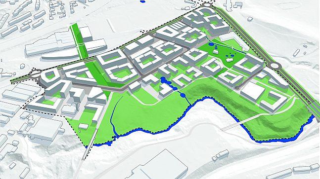 Kjelsrud planområde