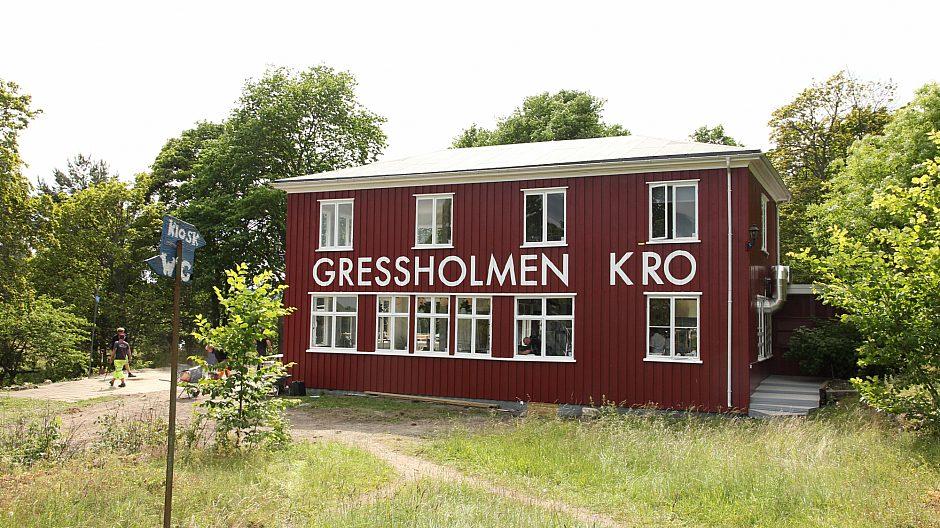 Gressholmen Kro Utenfra