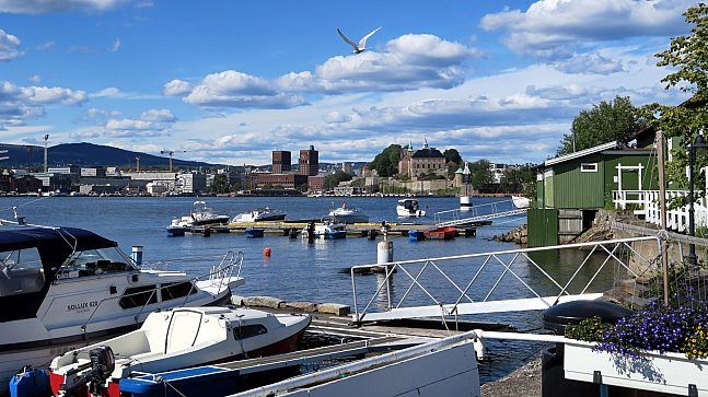 Revierhavnen: Norges eldste båtforening ble stiftet i 1853 og har nå båthavn på historiske Hovedøya, med flott utsikt inn mot byen.