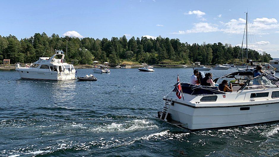De fleste bruker fritidsbåten til dagsturer, på andre og tredje plass kommer fisking og overnattingsturer.