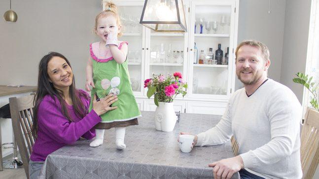 Carolina Mendoza, Peder Olsen og Sienna