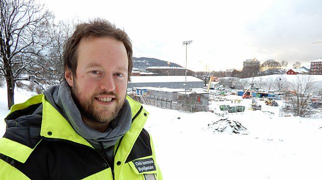 Dan Paulsen er Prosjektleder for Nye Jordal Park. Han håper at parken blir så fin at folk ikke bare trener der, men fristes til å oppholde seg der en god stund