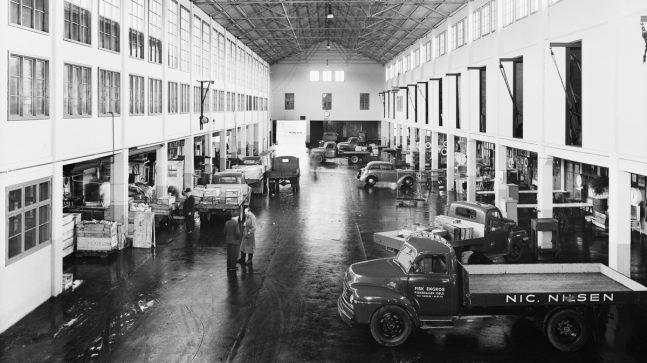 Fiskehallen 1950