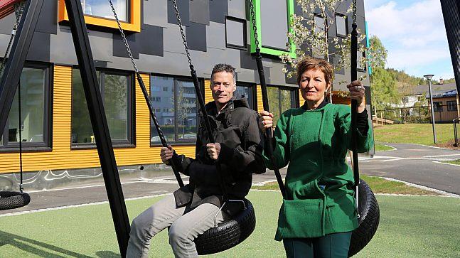 Birgit Rusten og Stein Stoknes,