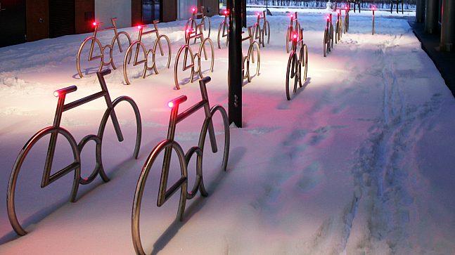 Sykkelparkering i Barcode