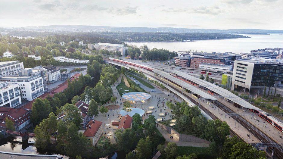 Lysaker stasjon
