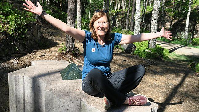 – Folk trenger ikke å reise langt for å oppleve vakker natur, sier kommunikasjonssjef Kari Merete Horne i DNT Oslo og omegn.