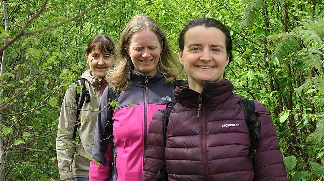 Marte Gjerde (46), Anne Lise Opsahl (48) og Sigrid Ramdal (40