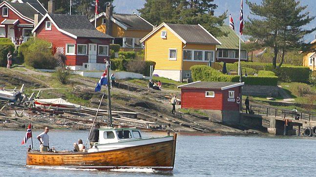 Båt Lindøya