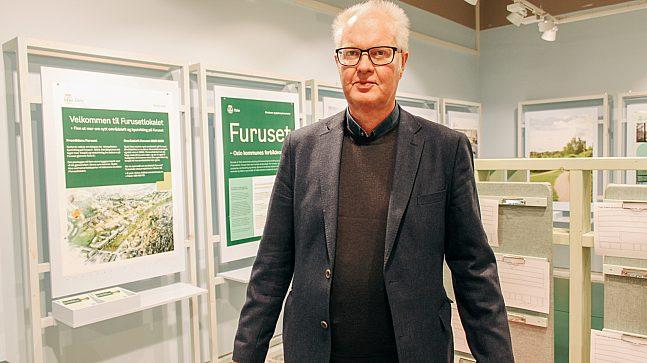 Halvor Voldstad er seksjonsleder for miljø og områdeutvikling i bydel Alna og mener at Furusetlokalet er en viktig del av lokaldemokratiet.