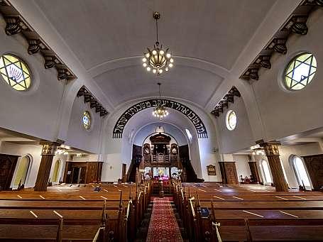 Interiør synagogen