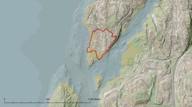 Kart nordstrand
