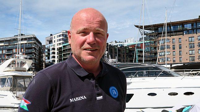 Geir Olav Hegerroll er daglig leder for Aker Brygge Marina, mener båtlivet og tilgangen til fjorden for alle er enormt viktig for Oslo som by og for Norge som sjøfartsnasjon.