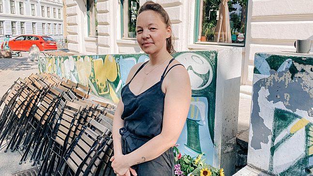 Julie Holmboe (37): Tidligere beboer, fortsatt restauranteier på Tøyen.