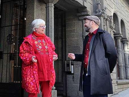 Rasmus Reinvang og Janne Wilberg
