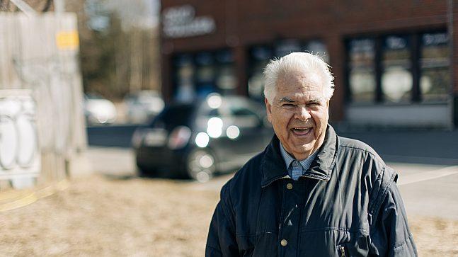Sigbjørn Thorud er deltakende beboer i prosessen med planarbeidet.