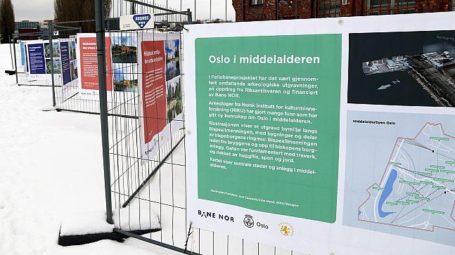 Plakat - Oslo i middelalderen