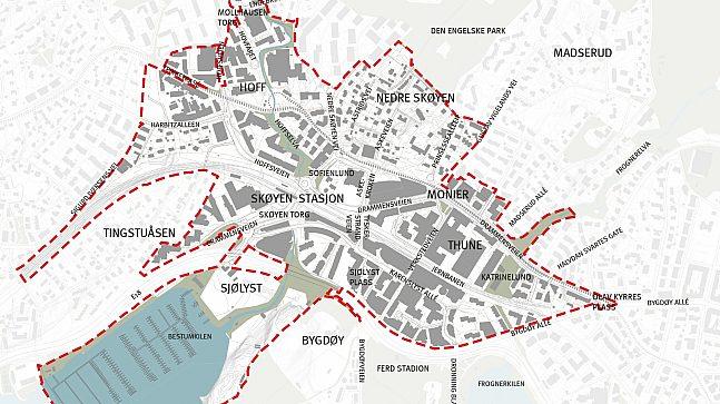 Kart med plangrense