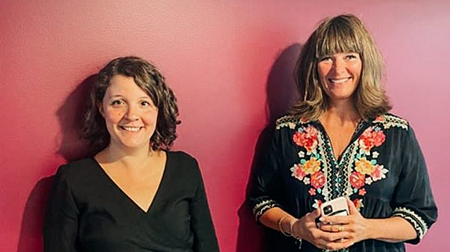 Miriam Abildsnes og Helene Damsgaard i Utdanningsetaten ønsker seg en ny skole i Bjørvika.