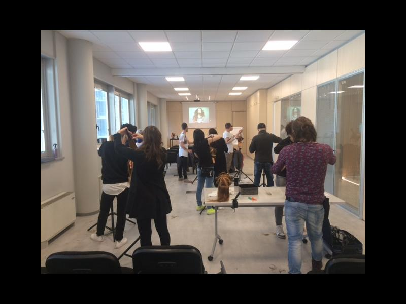 accademia per parrucchieri a Torino-classe