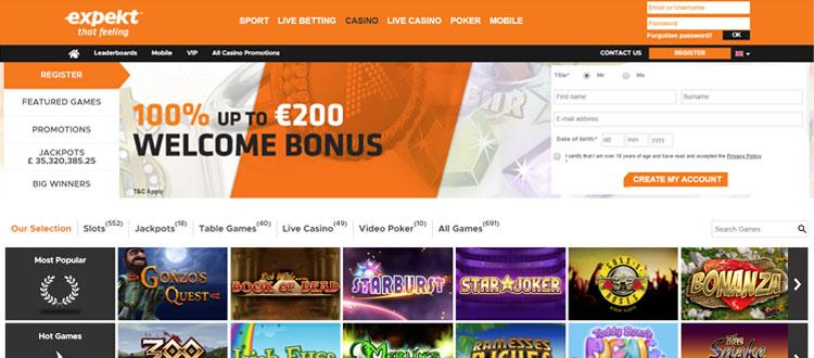 Expekt sports betting danny betting netherlands
