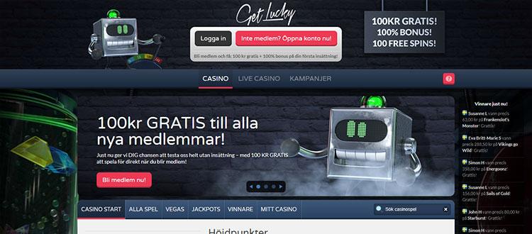 Get Lucky Casino Review 100 Casino Bonus