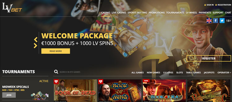 Lvbet Casino Review Ratings 1000 In Casino Bonuses