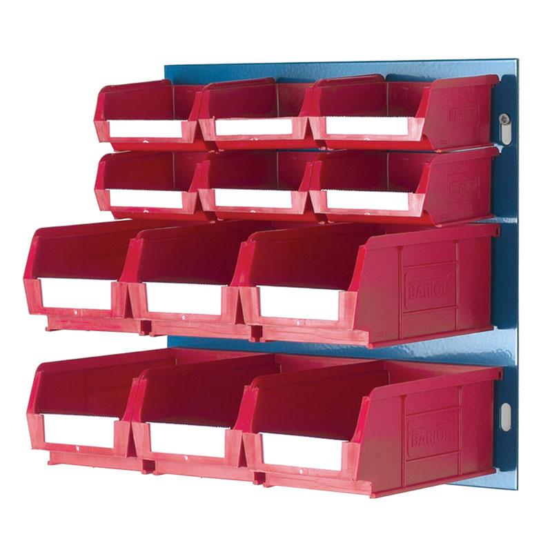 Fully Boxed Barton Bin Kits and Louvred Panels