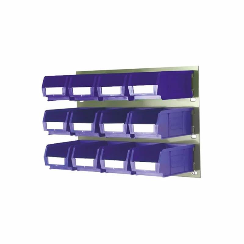 Fully Boxed Barton Bin Kits and Grey Louvred Panels