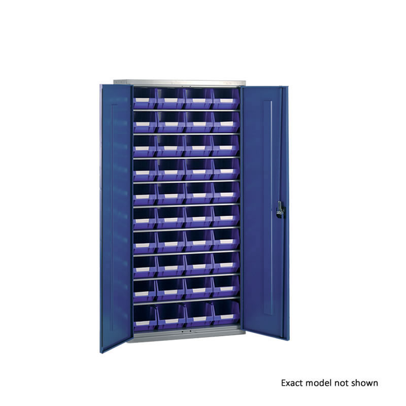 Container Cabinets - 40 x TC3 Bins and 4 Shelves