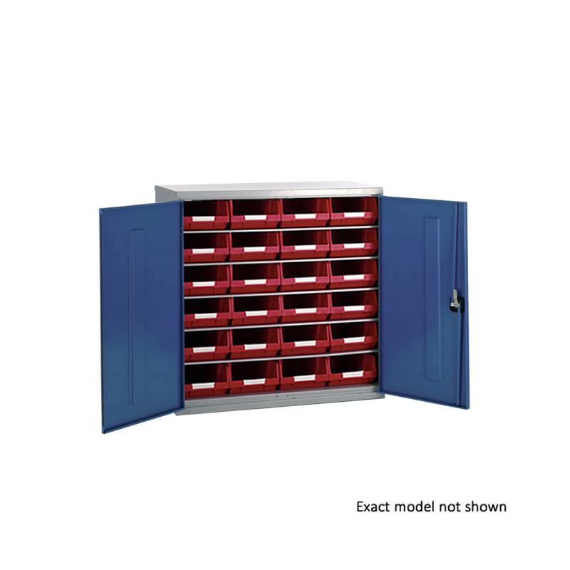 Container Cabinets - 24 x TC4 Bins and 5 Shelves