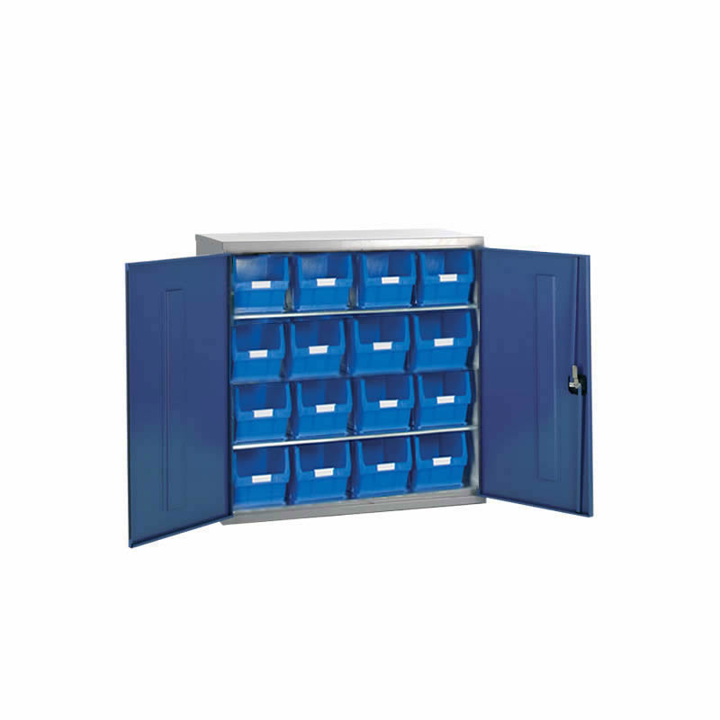 Container Cabinets - 16 x TC5 Bins and 2 Shelves