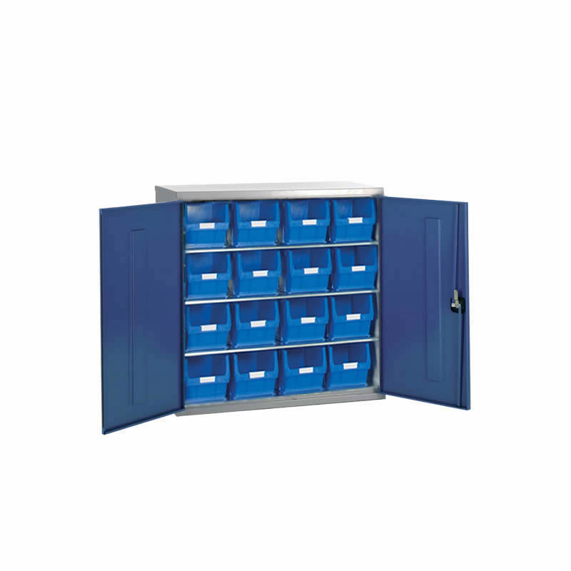 Container Cabinets - 16 x TC5 Bins and 3 Shelves