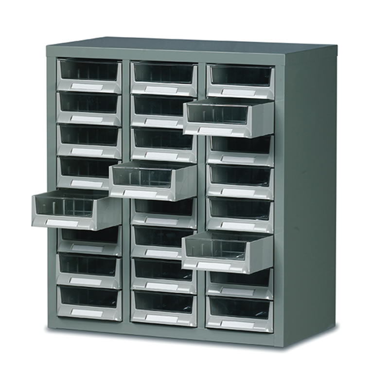 Small Parts Drawer Cabinet - 24 Drawers