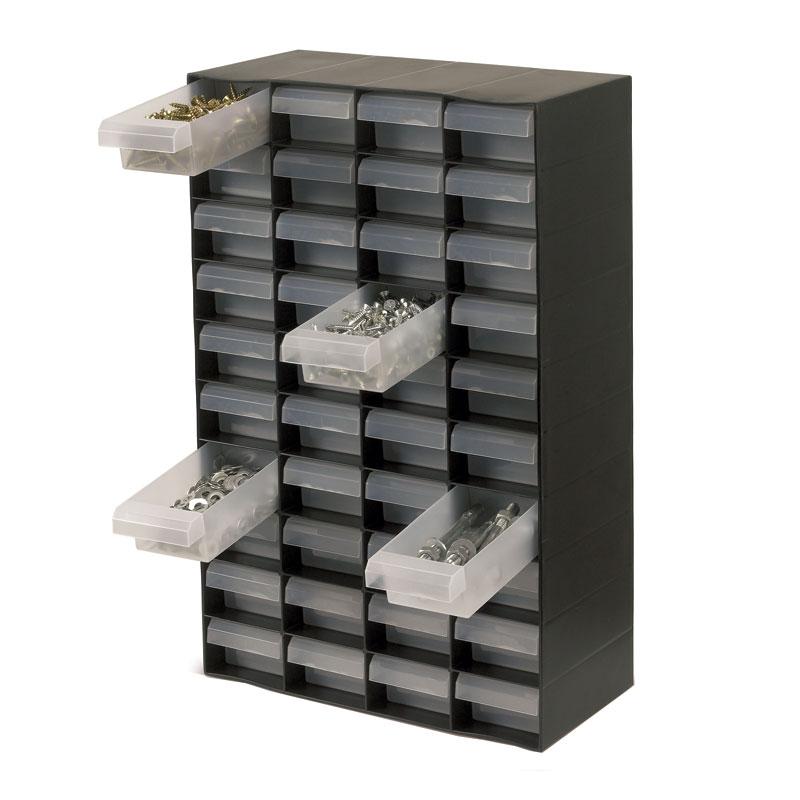 Multi-Drawer Storage Unit - 40 Drawers