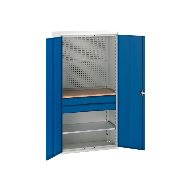 Verso Mini Workshop Cupboard with 2 Drawers