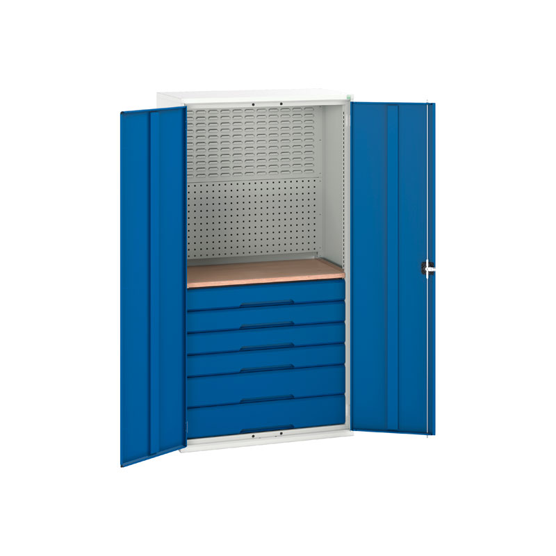 Verso Mini Workshop Cupboard with 6 Drawers