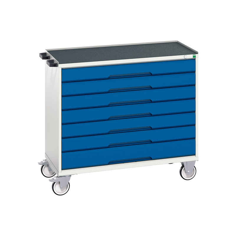 Verso Mobile Cabinet - 1050mm Wide, 7 Drawer