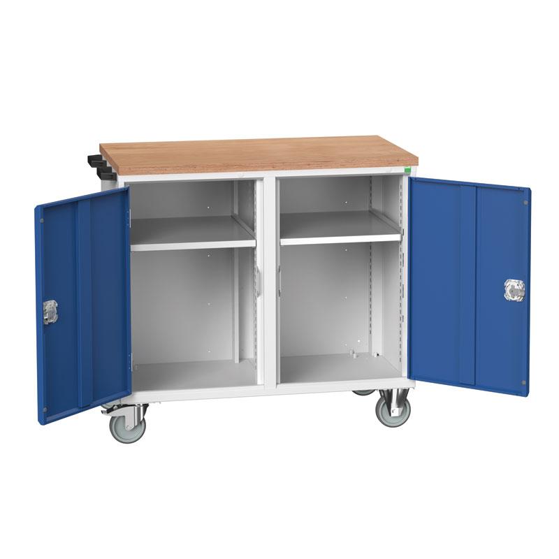 Verso Maintenance Trolley - 2 Cupboard